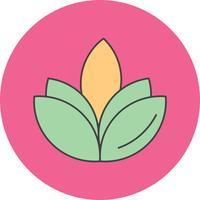 icône de vecteur fleur diwali
