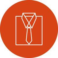 Icône de chemise de vecteur