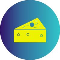 icône de fromage de vecteur