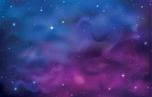 fond de galaxie de l'espace vecteur
