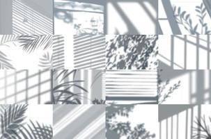 ensemble de cadres d'ombre vecteur