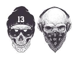 Crânes Dotwork
