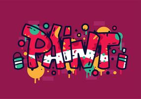 Vecteur graffiti