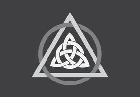 Illustration de forme de Triquetra vecteur
