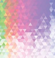 Abstrait coloré avec des triangles vecteur