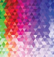 Abstrait coloré avec des triangles