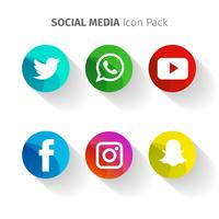 Circulaire Social Media vecteur