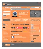 Modèle d'élément de conception Web.
