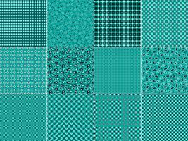 Motifs Bandana Turquoise