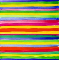 Aquarelle de bande abstraite