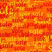 Affiche de vente vecteur