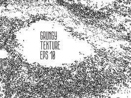 Texture de détresse grunge noir et blanc.