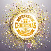 Joyeux Noël et bonne année Illustration vecteur