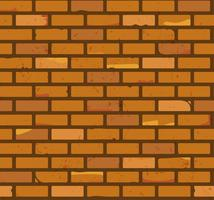 modèle de mur de brique vecteur