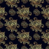 Modèles sans couture des motifs russes de la peinture du Nord