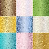 textures de fond de points métalliques vecteur