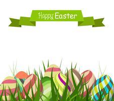 Joyeuses Pâques avec oeuf