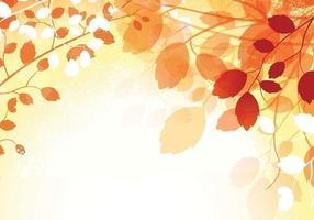 Vecteur de fond d'écran automne chaud
