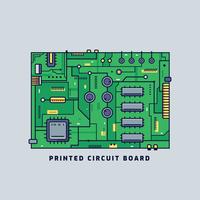 Vecteur de circuit imprimé