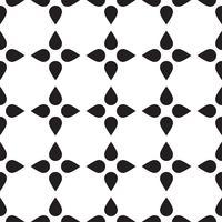 Mosaïque universelle transparente noir et blanc.