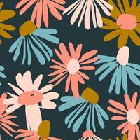 Floral pattern sans soudure. Conception de vecteur