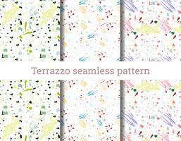 Modèle sans couture Terrazzo