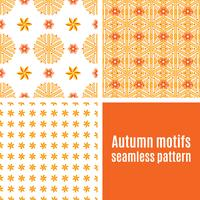 Définir le modèle sans couture abstraite orange