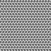 Monochrome géométrique sans soudure motifs universels carrelage. vecteur