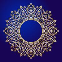 Mandalas Éléments décoratifs ethniques dans un cercle.