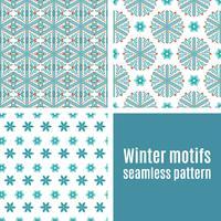 Définir un modèle sans couture de flocons de neige