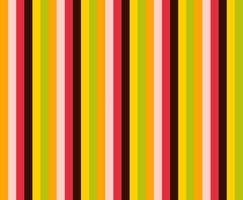Motif de couleur rétro de lignes verticales.