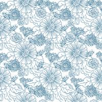 Tendance Floral Seamless Pattern