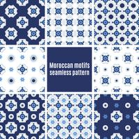 Azulejos portugais ensemble de modèles