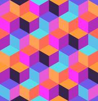 Motif géométrique sans soudure vecteur