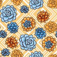 Tendance des motifs succulents et des rayures.