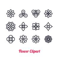 Fleur Clipart Vecteur