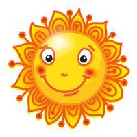 soleil dessiné