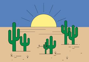 Vecteur de cactus gratuit