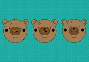 Vecteur gratuit ours