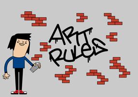 Vecteur de graffiti gratuit