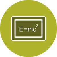 Icône de formule vectorielle vecteur