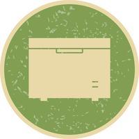 Congélateur Vector Icon
