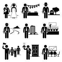 Services de gestion administrative Offres d'emploi Carrières vecteur