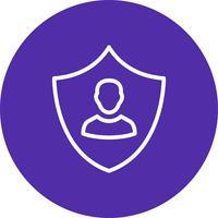 Icône de vecteur de protection entreprise