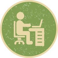 Espace de travail Vector Icon
