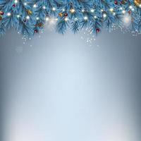 vacances nouvel an et joyeux noël fond. illustration vectorielle vecteur