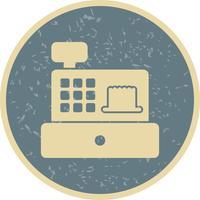 Icône de caisse vecteur