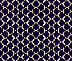 Modèle sans couture géométrique abstrait. Fond monochrome. vecteur