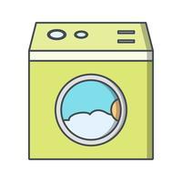 Icône de vecteur de machine à laver