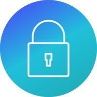 Icône de sécurité de vecteur